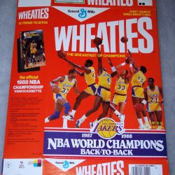 1988 Los Angeles Lakers  1987-1988 NBA World Champions Back-To-Back