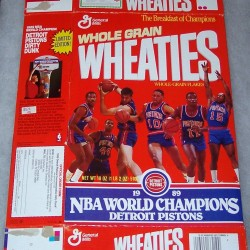 1989 Detroit Pistons 1989 NBA World Champions