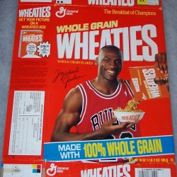 1990 Michael Jordan (Picture Box offer on side panel)