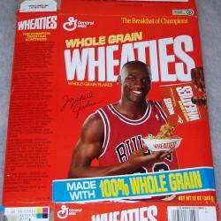 1990 Michael Jordan (pouring cereal)