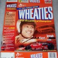 2002 Legends of Racing A.J. Foyt WHEATIES box