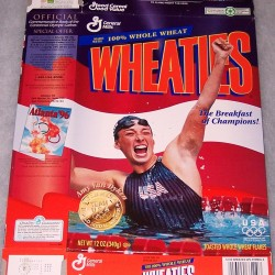 1996 Amy Van Dyken (no Speedo logo on swimsuit)