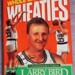 1993 Larry Bird Wheaties Champion Commemorative Edition (mini)(RARE)