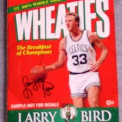 1999 Larry Bird Boston Celtics Commemorative Edition Sample-Not For Resale (mini) (RARE)