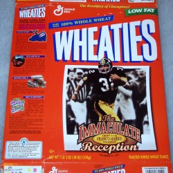 1997 Franco Harris Immaculate Reception 25th Anniversary