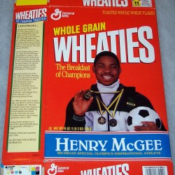 1994 Henry McGee Michigan Special Olympics Inspirational Athlete