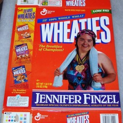 1997 Jennifer Finzel Michigan Special Olympics Inspirational Athlete of the Year