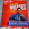 1993 Jeremy Farnan Michigan Special Olympics Inspirational Athlete