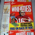 1991 Joe Montana (Football game on box back)