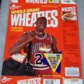 1991 Michael Jordan Fleer NBA Basketball Card Collector Sheet (4 of 8)