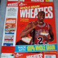 1992 Michael Jordan (Bag on shoulder eating cereal)