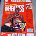1991 Michael Jordan Fleer NBA Basketball Card Collector Sheet (6 of 8)