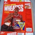 1991 Michael Jordan Fleer NBA Basketball Card Collector Sheet (7 of 8)