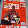 1991 Michael Jordan Fleer NBA Basketball Card Collector Sheet (8 of 8)