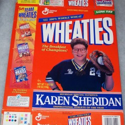 1998 Karen Sheridan michigan Special Olympics Inspirational Athlete of the Year