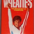 1986 Mary Lou Retton (hands in air) (mini) (Rare)