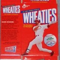 1999 Mark McGwire (mini MISSING gold signature) WHEATIES Box