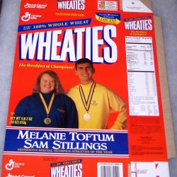 1996 Melanie Toftum/Sam Stillings Minnesota Special Olympics Athletes of the Year