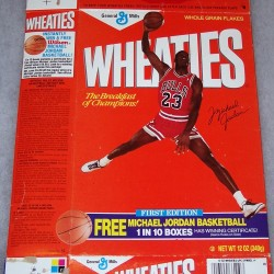 1988 Michael Jordan First Edition (Banner Free Basketball 1 in 10 Boxes)