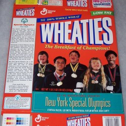 1998 New York Special Olympics '97-'98 Inspirational Athletes