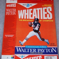 1988 Walter Payton Commemorative Edition