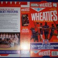 1988 Detroit Pistons 1988 NBA World Champions (Phantom) WHEATIES Box