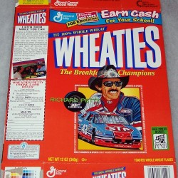 1998 Richard Petty 200th Career Win WHEATIES box
