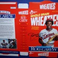 1991 Rod Carew Commemorative Edition Autographed Factory Flat (RARE)