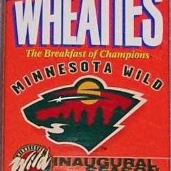 2000 Minnesota Wild 2000-2001 Inaugural Season (mini)(RARE)