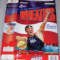 1996 Amy Van Dyken (Speedo logo on swimsuit)