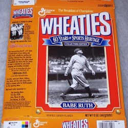 1992 Babe Ruth 60 Years of Sports Heritage