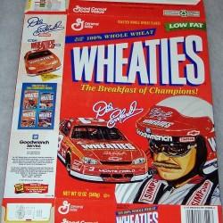 1997 Dale Earnhardt WHEATIES box