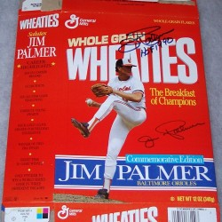 1989 Jim Palmer Commemorative Edition