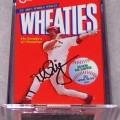1999 Mark McGwire (gold signature mini) WHEATIES Box