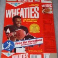 1987 Walter Payton (Banner on front for Free Ski Vacations)