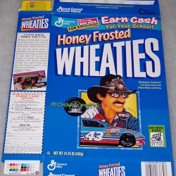 1998 Richard Petty 200th Career Win (HFW) WHEATIES box