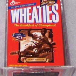 1999 Jackie Robinson (gold signature mini)