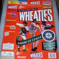 1997 Seattle Mariners American League Western Division Champs- Rodriguez, Johnson, Griffey Jr.