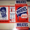 1951 Bob Feller Cleveland Indians WHEATIES Box