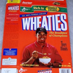 1999 Tiger Woods (eating cereal)
