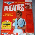 1987 Chris Evert Lloyd Wheaties Champions Award Winner