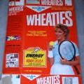 1987 Chris Evert Lloyd Wheaties Champions Award Winner