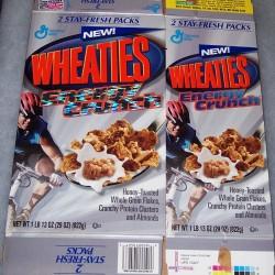 2001 New! Wheaties Energy Crunch (twin box)