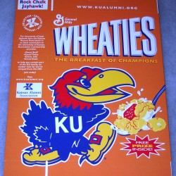 2004 Kansas University Wave the Wheat (RARE)