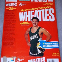 1988 Sammy Chagolla Champion Wrestler- Search for Champions Winner