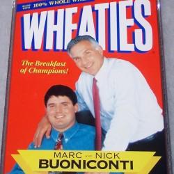 1997 Marc and Nick Buoniconti Dinner Box (RARE)