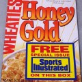 1994 Honey Gold Wheaties-Sports Illustrated on the box