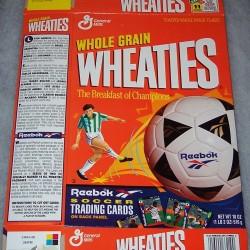 1994 Reebok Soccer Trading Cards-Ambriz, Valderrama, Rocha, Alves