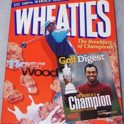 2001 Tiger Woods (get 2 free issues of Golf Digest offer)