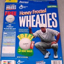 1998 Tiger Woods Free Golf Balls (HFW)